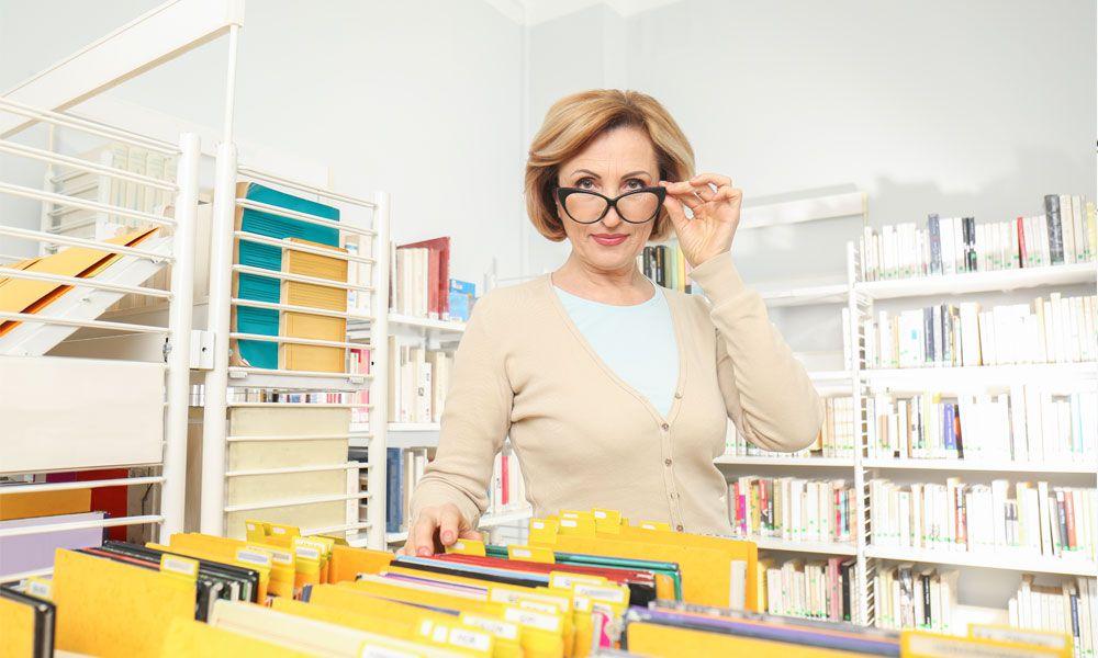 Dokumenty w bibliotece i terminy przechowywania