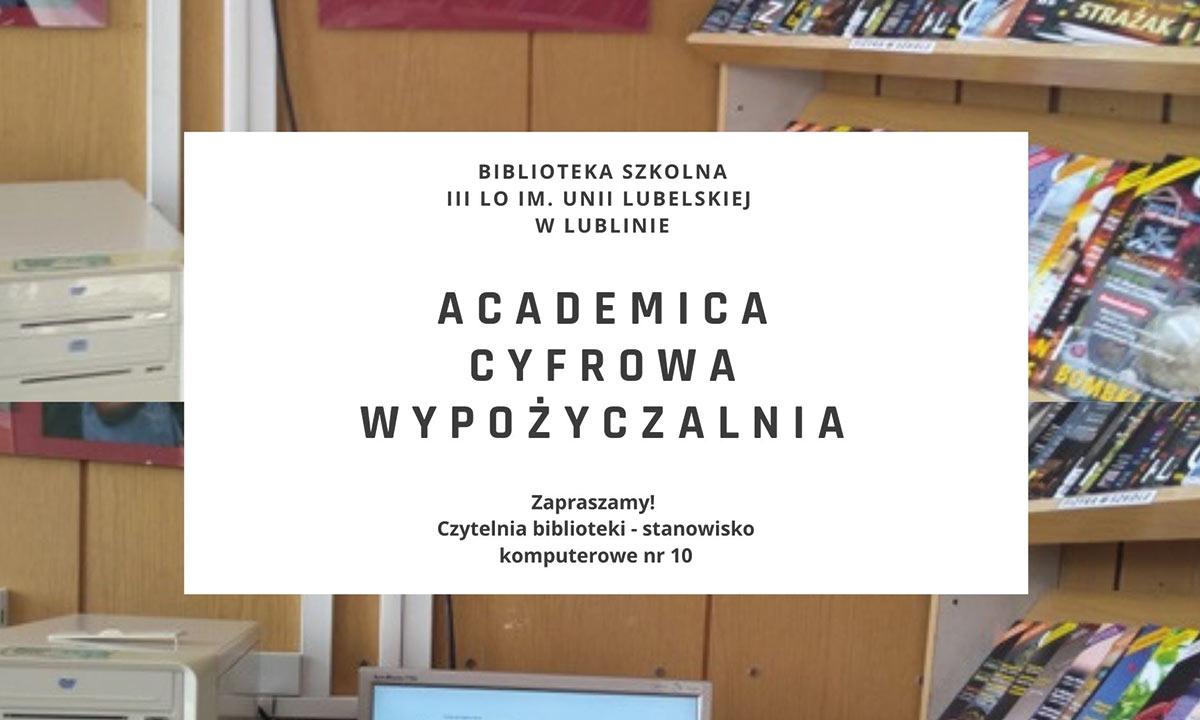 Academica – innowacyjna forma wypożyczeń międzybibliotecznych