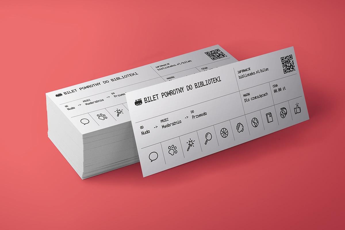 Wizualizacja wydrukowanych biletów